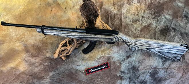 Ruger 10/22 Compact Black Laminate, 22 Lr, 18.5″