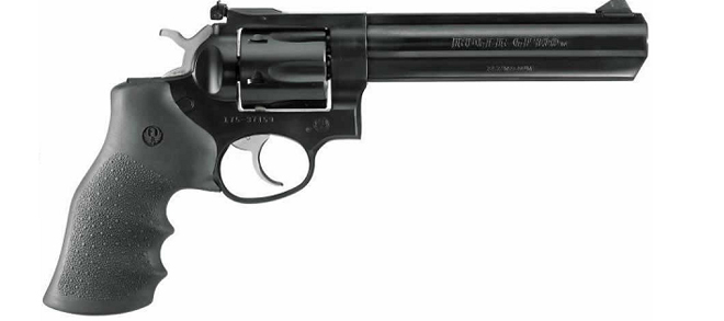 "Ruger GP100 .357 Mag, 6"", Blued Double-Action Revolver"