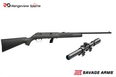 Savage 64 FXP, 22LR, Semi-Auto Rifle w-Scope, 21″ Barrel rangeviewsports canada