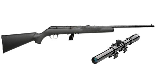 Savage 64 FXP Semi-Auto Rifle w/Scope