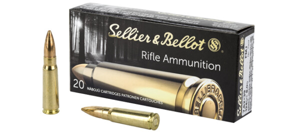 Sellier & Bellot 7.62x39 123gr SP