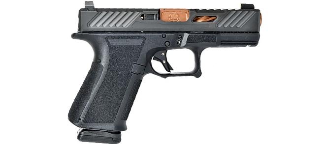 Shadow Systems MR918 Elite 9mm - Black/Bronze