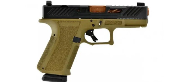 Shadow Systems MR918 Elite 9mm - FDE/Bronze