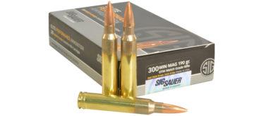 Sig Sauer 300 WIN Mag 190gr Centerfire - 20rds