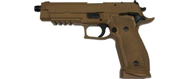 Sig Sauer P226 X-Five 9mm (9×19)Sig Sauer P226 X-Five 9mm 9×19-2Sig Sauer P226 X-Five 9mm 9×19-3 Sig Sauer P226 X-Five 9mm (9×19) Luger TAC SA/DA – FDE – Made In Germany