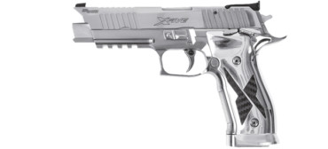 Sig Sauer P226 X-Five 9mm (9x19) Luger SAO ADJ. - Chrome/Carbon - Made in Germany