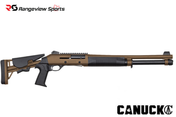 Canuck Shotgun Semi Auto Model Operator – Combo, Tan Rangeviewsports Canada