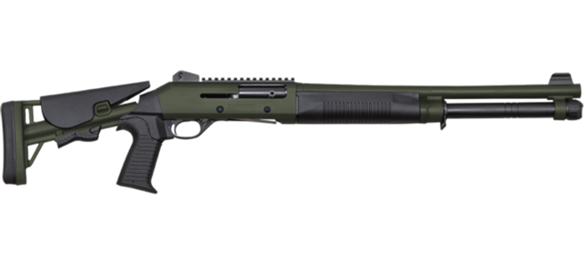 Canuck Shotgun Semi Auto Model Operator - Combo, Green