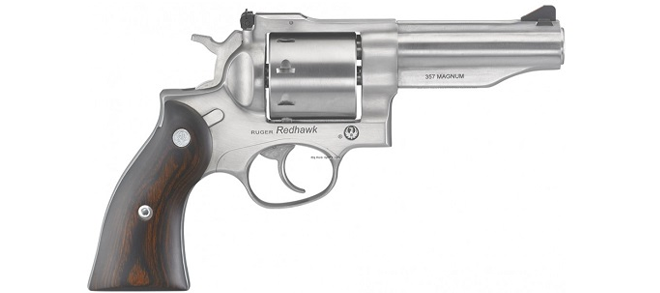 Ruger Redhawk .357 Magnum Revolver 4.2- Barrel, Stainless, Hardwood Grips Rangeview sports canada