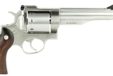 """Ruger Redhawk .357 Magnum Revolver 5.5"""" Barrel, Stainless, Hardwood Grips"""