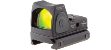 Trijicon RMR Type 2 1.0 MOA Red Dot, Adjustable LED, Low Picatinny Rail Mount