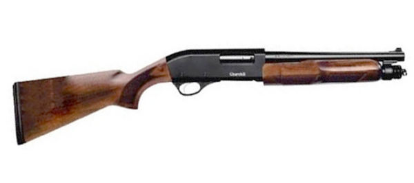 "Churchill Pump 12ga 3"", 12.6"" Barrel, Wood Stock"