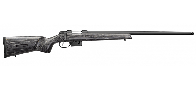 CZ 527 Varmint Laminated Bolt Action Rifle, 223 REM, 24- Bbl, Laminated Wood, 5 Rnd, No Sights, SST Trigger Rangeview sports Canada