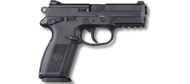 FNH FNX-9 DA-SA 9x19mm, Black rangeview sports canada