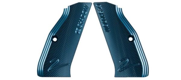 Genuine CZ Shadow 2 Grips - Blue