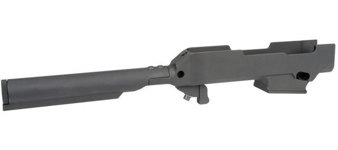 MI Chassis Compatible w/ Ruger PC Carbine, 6 Position Mil-Spec Tube