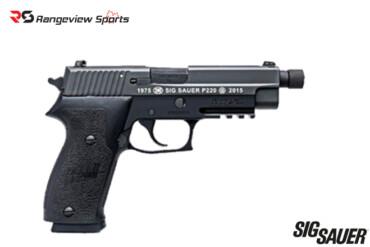 SIG SAUER P220 .45 AUTO 4.6″ 40TH ANNIVERSARY Rangeviewsports Canada