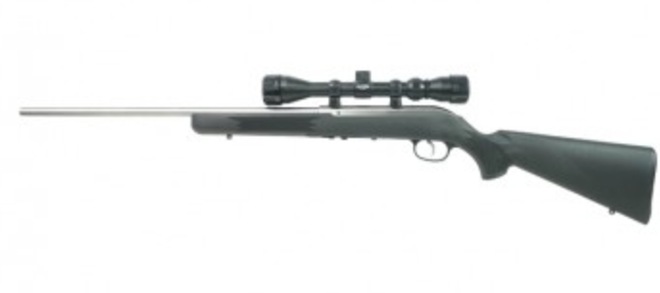 Savage 64 FSS XP, 22LR, Semi-Auto Rifle w-Scope, Stainless 21-Barrel, Non restricted Rangeview sports Canada