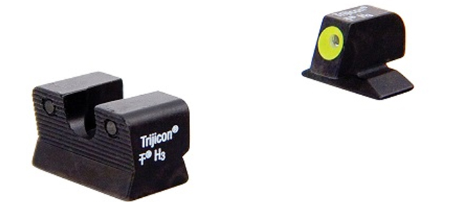 Trijicon HD™ Night Sights – Beretta 92A1, 96A1 – Yellow