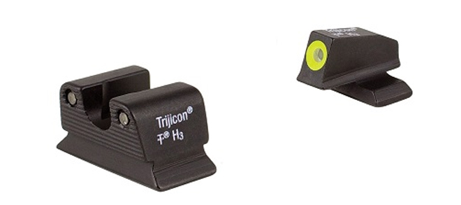 Trijicon HD™ Night Sights- Beretta PX4 – Yellow