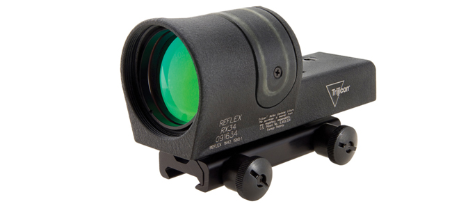 Trijicon Reflex 1×42 Dual Illuminated Sight 4.5 MOA Green Dot Reticle