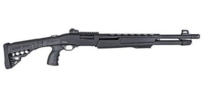 Pallas P-TAC Pump Action Sport Shotgun, 3″ 12Ga, 14″ BRL
