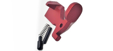 MTAC AR-15 Bolt CatchRelease - Red