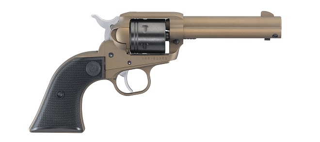 Ruger Wrangler .22LR SA Revolver, Bronze Cerakote, 6rd