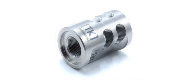 TandemKross Game Changer Pro .22LR Compensator for Ruger MK Series, SW22 Victory, etc. - Silver Rangeview sports canada