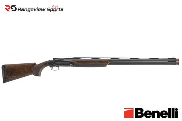 Benelli 828U Sport Shotgun, Black 3″ 12 Ga 32″ Barrel Rangeviewsports Canada