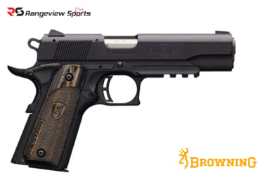 Browning 1911-22 Black Label Full Size Pistol with Rail, 22 LR rangeviewsports canada