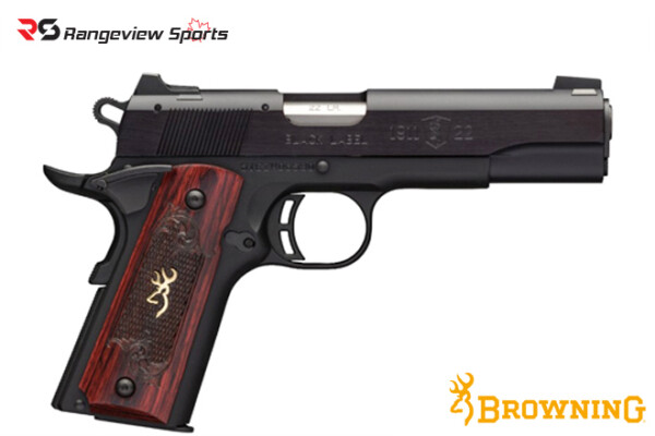 Browning 1911-22 Black Label Medallion Full Size Pistol, 22 LR rangeviewsports canada