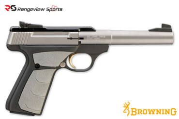 Browning Buck Mark Camper Stainless UFX Pistol, 22 LR rangeviewsports canada