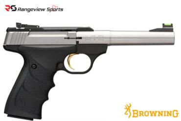 Browning Buck Mark Camper Stainless URX Pistol, 22 LR rangeviewsports canada