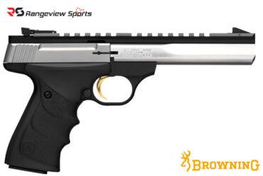 Browning Buck Mark Contour Stainless URX Pistol, 22 LR 5 1-2- Barrel rangeviewsports canada