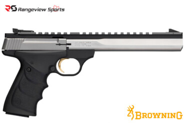 Browning Buck Mark Contour Stainless URX Pistol, 22 LR 7-1-4- Barrel rangeviewsports canada