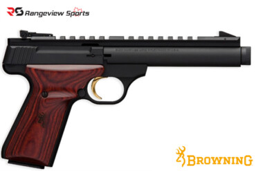 Browning Buck Mark Field Target Thread Muzzle Pistol, 22 LR rangeviewsports canada