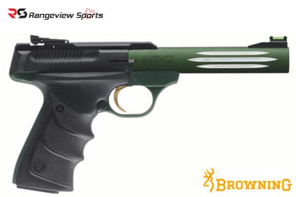 Browning Buck Mark Lite Green URX Pistol 22 LR rangeviewsports canada
