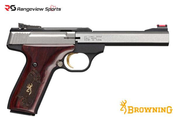 Browning Buck Mark Medallion Pistol, 22 LR rangeviewsports canada