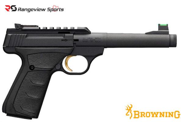 Browning Buck Mark Plus Camper UFX Thread Muzzle Pistol, 22 LR rangeviewsports canada