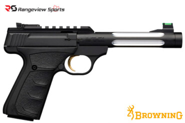 Browning Buck Mark Plus Lite Flute UFX Thread Muzzle Pistol, 22 LR rangeviewsports canada
