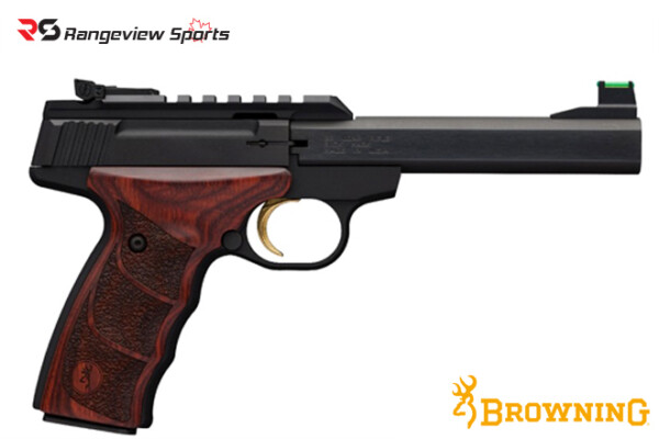 Browning Buck Mark Plus Rosewood UDX Pistol, 22 LR rangeviewsports canada