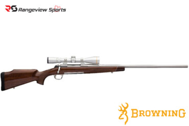 Browning RMEF X-Bolt White Gold Medallion Rifle, Stainless Barrel Rangeviewsports Canada