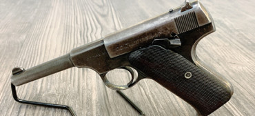 COLT AUTO CAL .22 LONG RIFLE THE WOODSMAN LEFT RANGEVIEW SPORTS CANADA