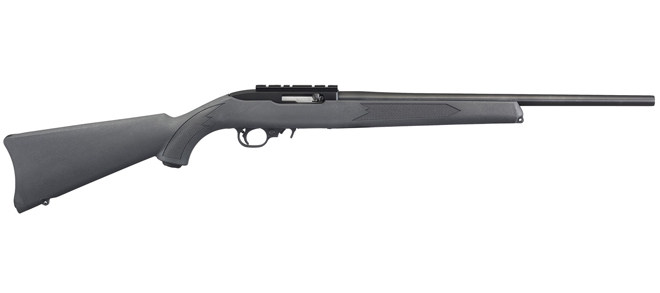 Ruger 10-22 Charcoal Synthetic Semi-Auto Rifle, .22LR (31145) rangeview sports canada