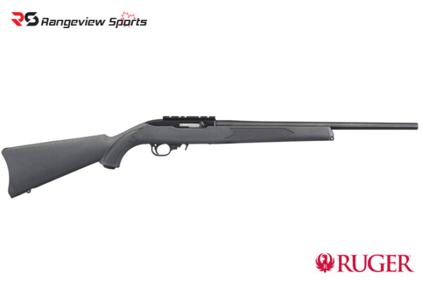 Ruger 10-22 Charcoal Synthetic Semi-Auto Rifle, .22LR rangeviewsports canada