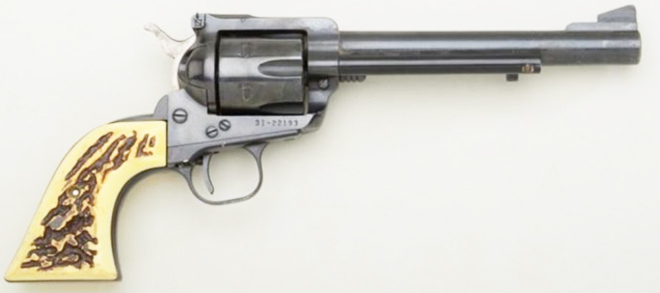 Ruger Blackhawk .357 Mag Single-Action Revolver, Stag Grips – Very Good Condition rangeview sports canada