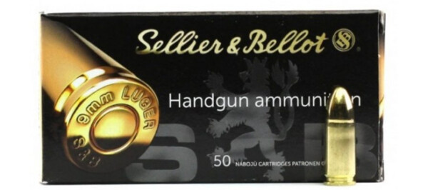 Sellier & Bellot 9mm 124gr JHP – 50rds rangeview sports canada