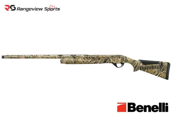 Benelli Super Black Eagle 3 Shotgun, Left Hand Max-5 3 1:2″ 12 Ga 28″ Barrel Rangeviewsports Canada