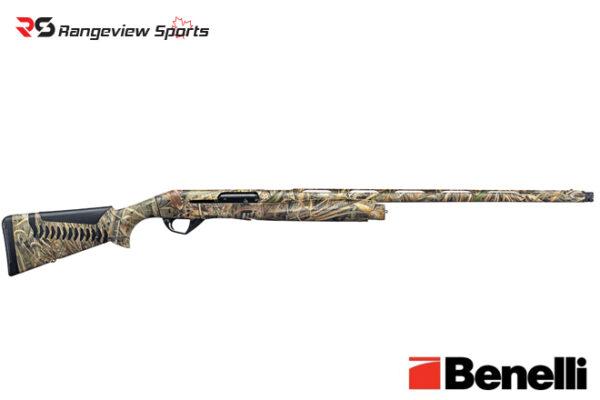 Benelli Super Black Eagle 3 Shotgun, Max-5 3 1:2″ 12 Ga 26″ Barrel Rangeviewsports Canada